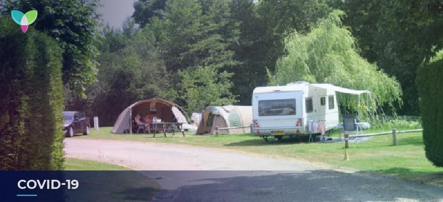 Ralentissement des réservations dans les campings à cause du Coronavirus