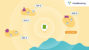 carte des prix des hébergements de camping
